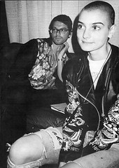 Sinead O'Connor & Michael Hutchence @ The Grammy's LA 1989 | by bp fallon