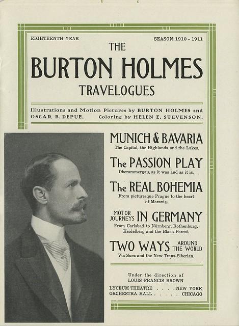18th Year Program - 1910/1911