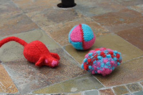 Felted Cat Toys