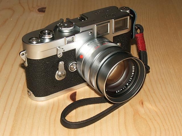 Leica M3 and Summilux M 50mm f1.4 lens