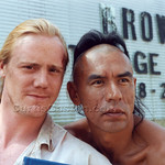 Steven Waddington and Wes Studi
