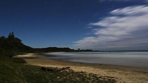 blue sky seascape beach nature clouds stars landscape lumix evening australia moonlight lumixaward fz18 panasonicfz18