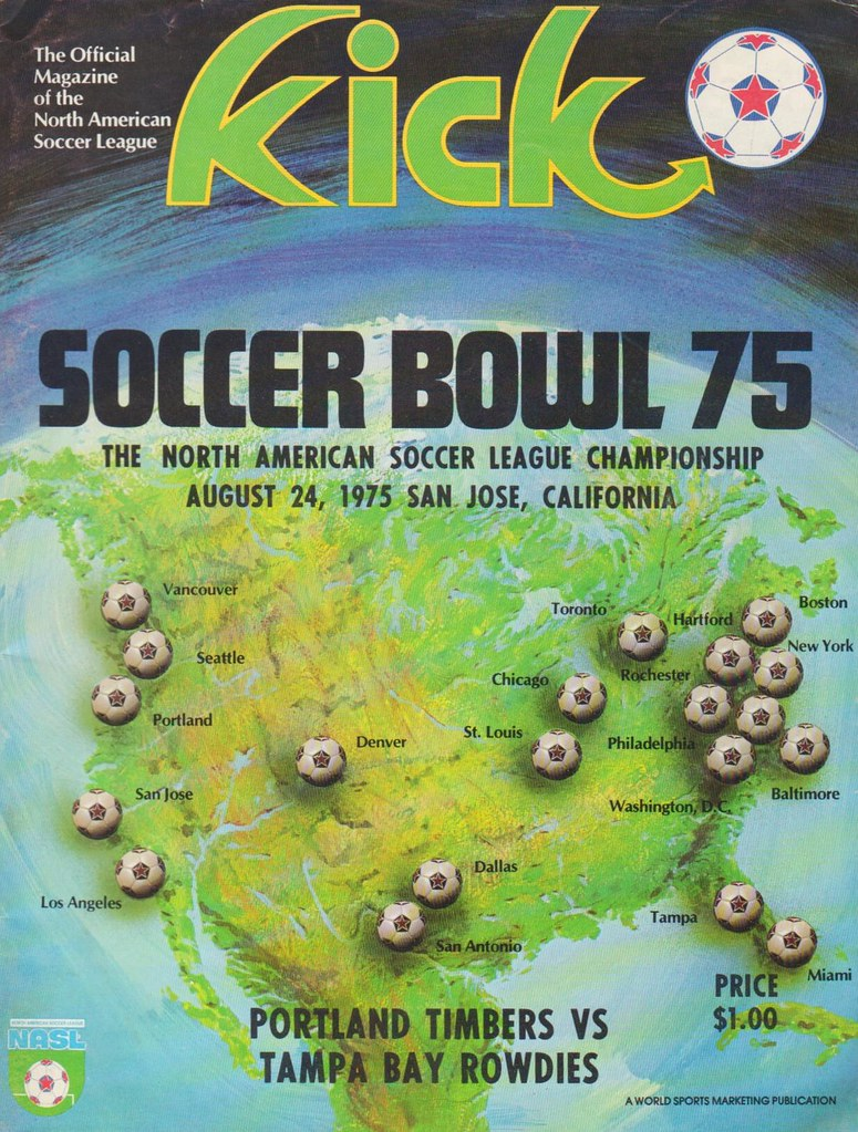 Soccer Bowl 75 | Portland Timbers vs. Tampa Bay Rowdies. Aug… | Flickr
