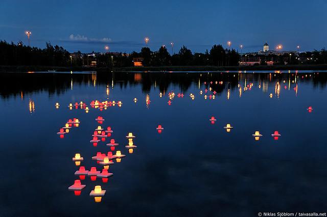 Hiroshima night in Helsinki