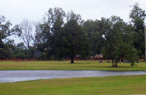 Pond awaiting storm