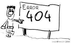 Message error 404 | by CyboRoZ