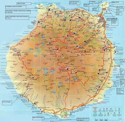 Gran Canaria Mapa Buceo Actuacion Integral Actin Flickr