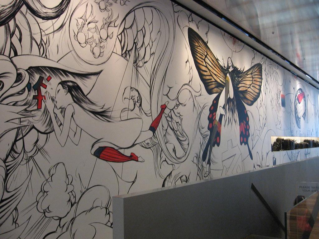 James Jean Mural At Prada Prada Store Soho Christin Of
