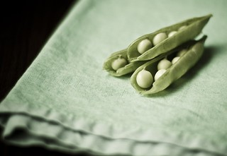 sugar snap peas | by AmyRothPhoto