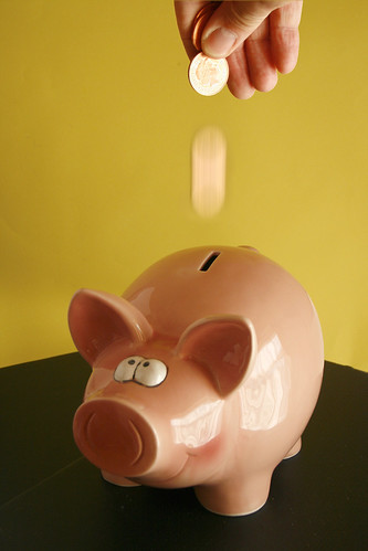 Piggy savings bank | by Alan Cleaver