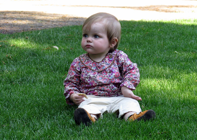 Maia in the Grass