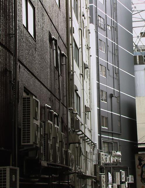 A street behind