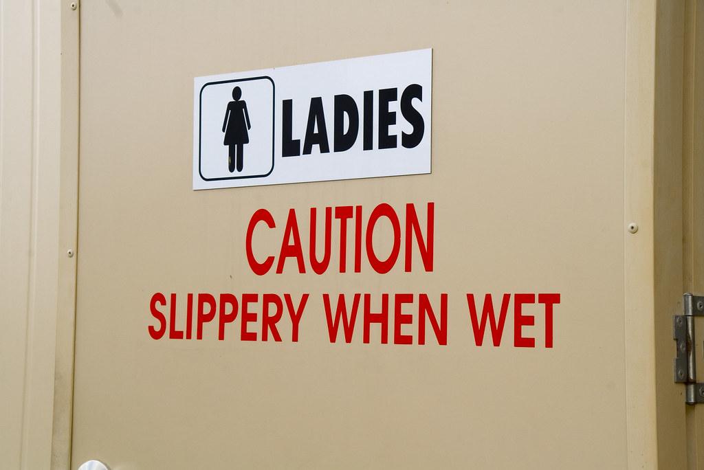 Slippery when wet by Steve