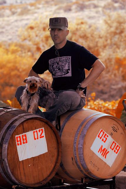 Maynard James Keenan at the vineyard | Page Springs, AZ What