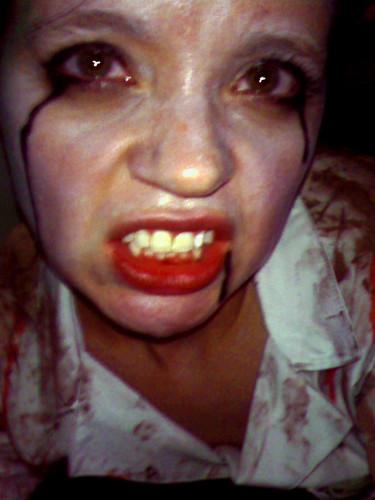 Steph, Halloween 08   by zacbentz