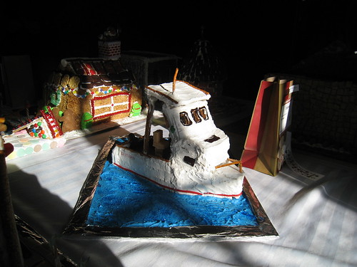 Gingerbread Festival: Lobster Boat | by katy elliott