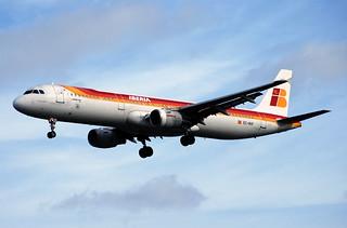 Iberia A321   by allenthepostman