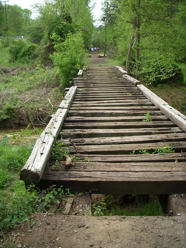 Railroad Tie Bridge on the Swamp Rabbit Trail | by RandomConnections