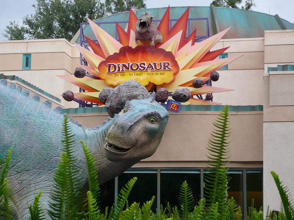 Dinosaur Sculpture Dinosaur Ride Animal Kingdom | Michael Gray ...