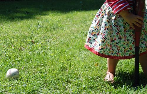 baseball skirt | by SouleMama