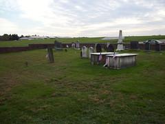 Van Nest - Weston Burying Ground facing the airport.