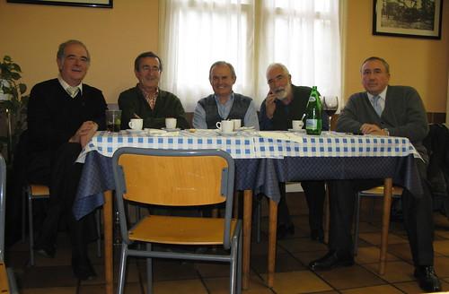 Mesa de Iurreta: Imanol Zubizarreta, Iñaki Zarraoa, José Mari Zeberio, Sabin Ipiña y Mikel Agirregabiria.
