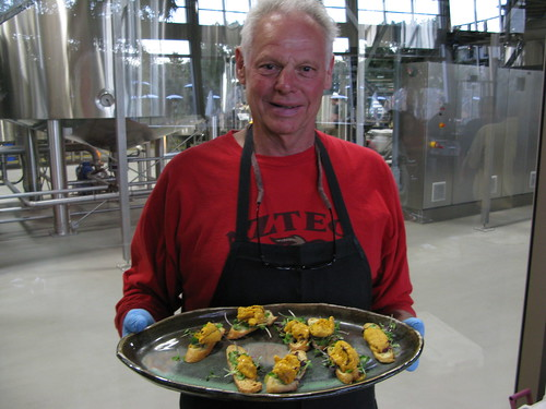 Peter Halmay at the Sea Urchin booth | by stonebrewingco