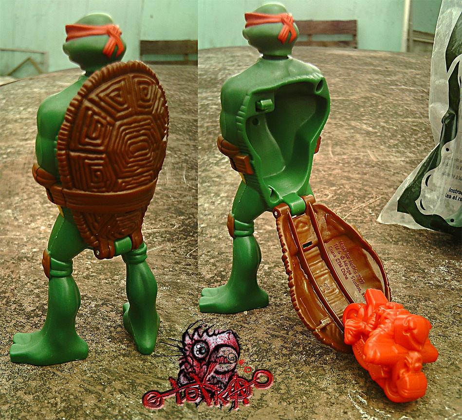 Mcdonald S Tmnt Happy Meal Toy 3 Raphael Nightwatcher Flickr