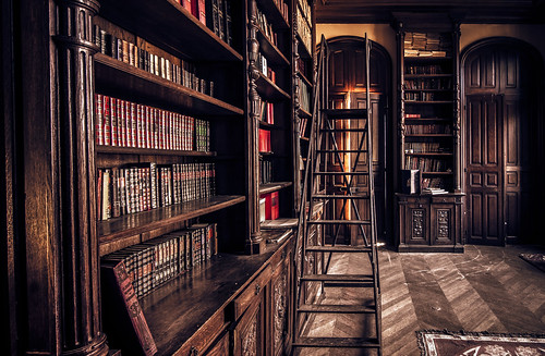 Library doors are a gateway to anywhere -explored- | by Marco Bontenbal (Pixanpictures.com)