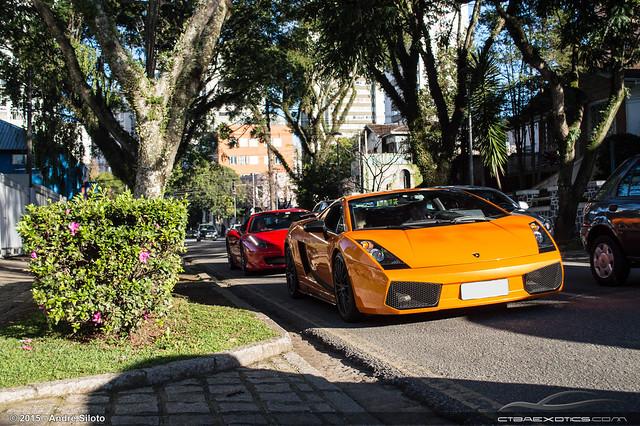 Lamborghini Gallardo Superleggera e Ferrari 458 Italia