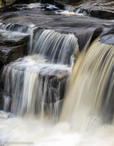 northyorkshire outdoor richmond riverswale waterfall winter