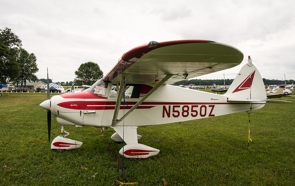 N5850Z Piper Colt, Oshkosh   Wallace Shackleton   Flickr