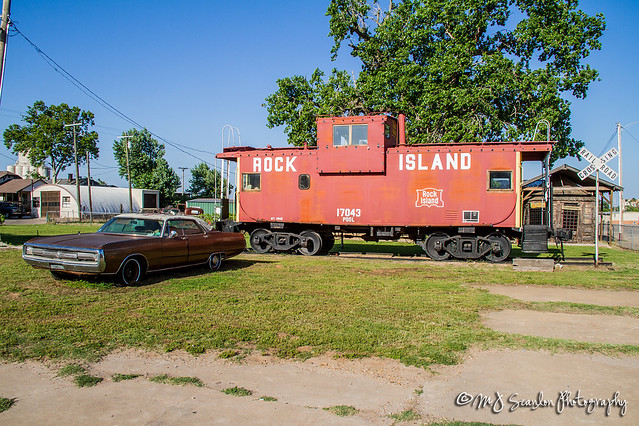 CRIP 17043 | Caboose Geary Oklahoma
