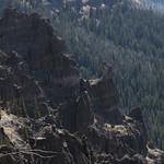 Rock formations along Sky Rim Trail