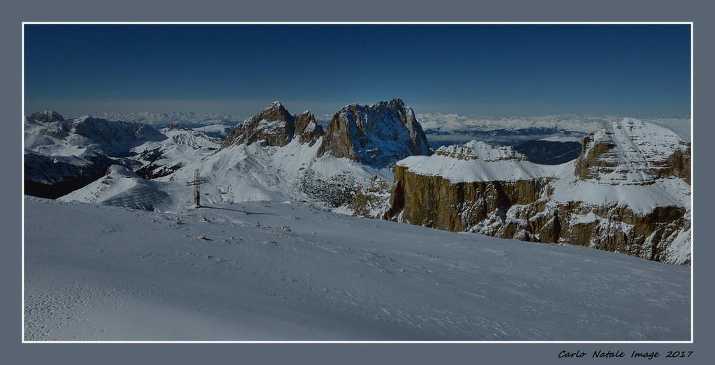 Panorama Dalla Terrazza Delle Dolomiti Panorama From Sass