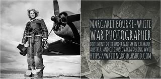 MARGARET BOURKE-WHITE #100travelHERS   by sandrakaybee