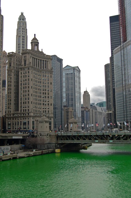 Skyline with Green River