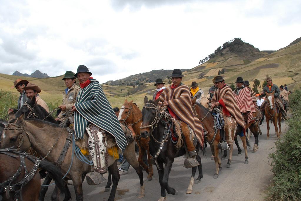 men in ecuador