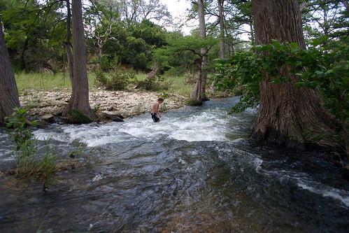 water kids creek swimming swim texas country hill verdy