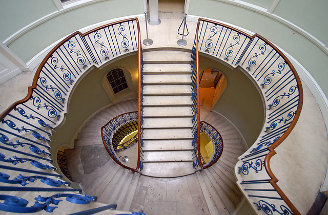 The Nelson Stair - Somerset House - London