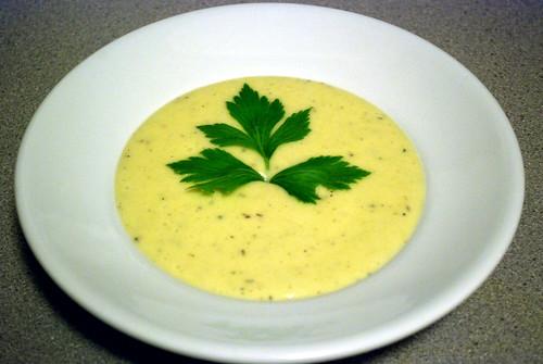 Cream of Potato-Celery | by Pinot & Pineapple