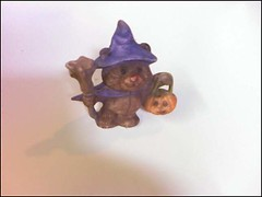 Ceramic Halloween Bear: Front | by trentsketch