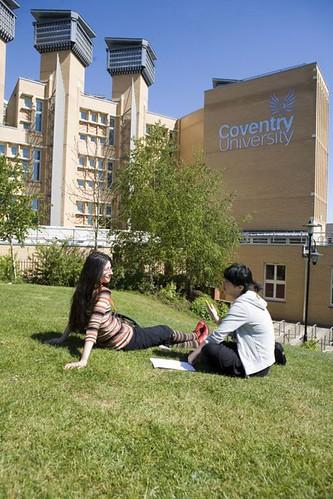 Students love grass