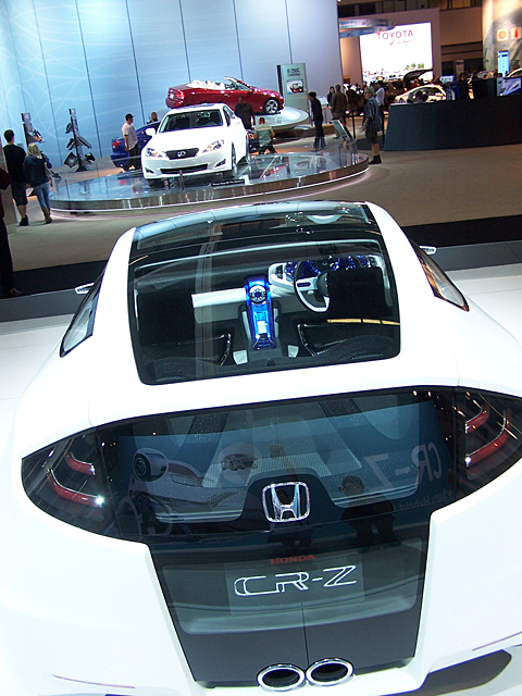 Honda CR-Z rear2