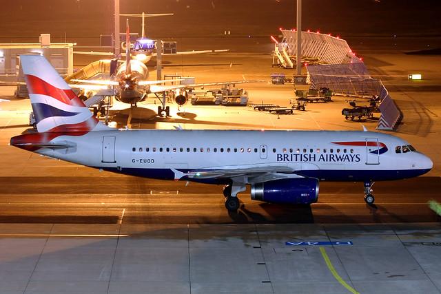 British Airways Airbus A319-131 G-EUOD FRA 27-11-08