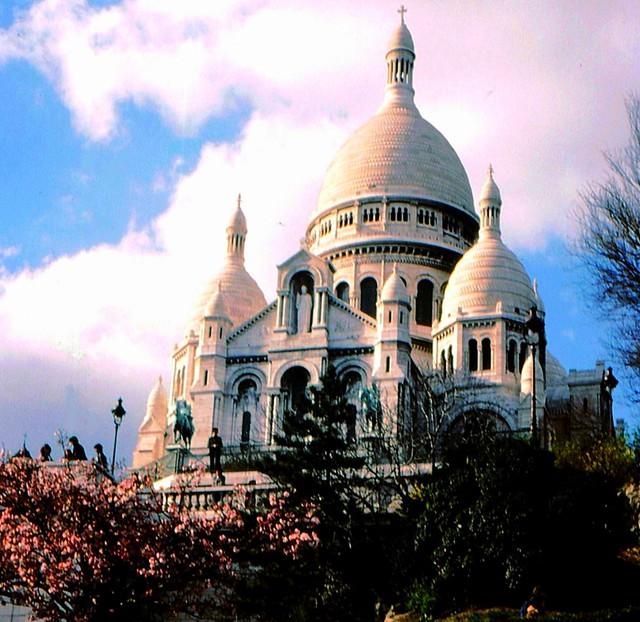 Paris - Sacre Coeur , 1930