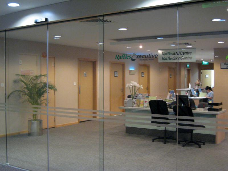 raffles executive clinic