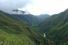 Reaching the bottom of our descent before the 1900 meter climb to Pasto