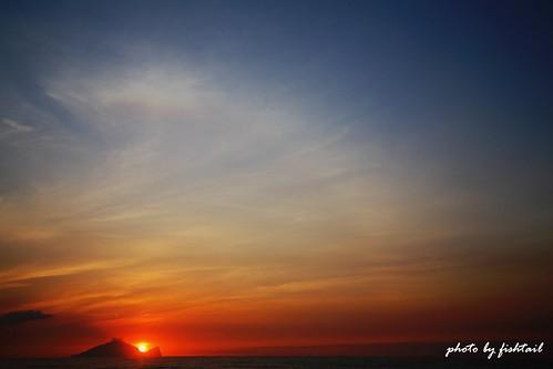 sunrise taiwan yilan turtlemountainisland