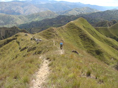 Hiking above Vilcabamba